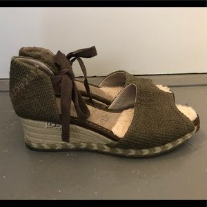 bd1b608f2af UGG Shoes | W Toura Wedges Excellent Conditionfirm Price | Poshmark